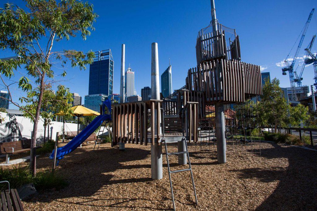Elizabeth Quay Island Playground