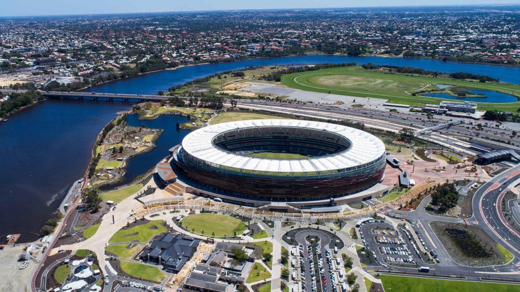 Optus Stadium - Concrete