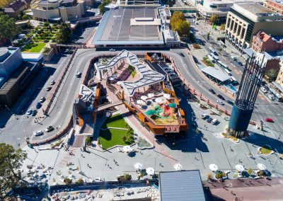 Yagan Square – Water Features and Stone Tiling