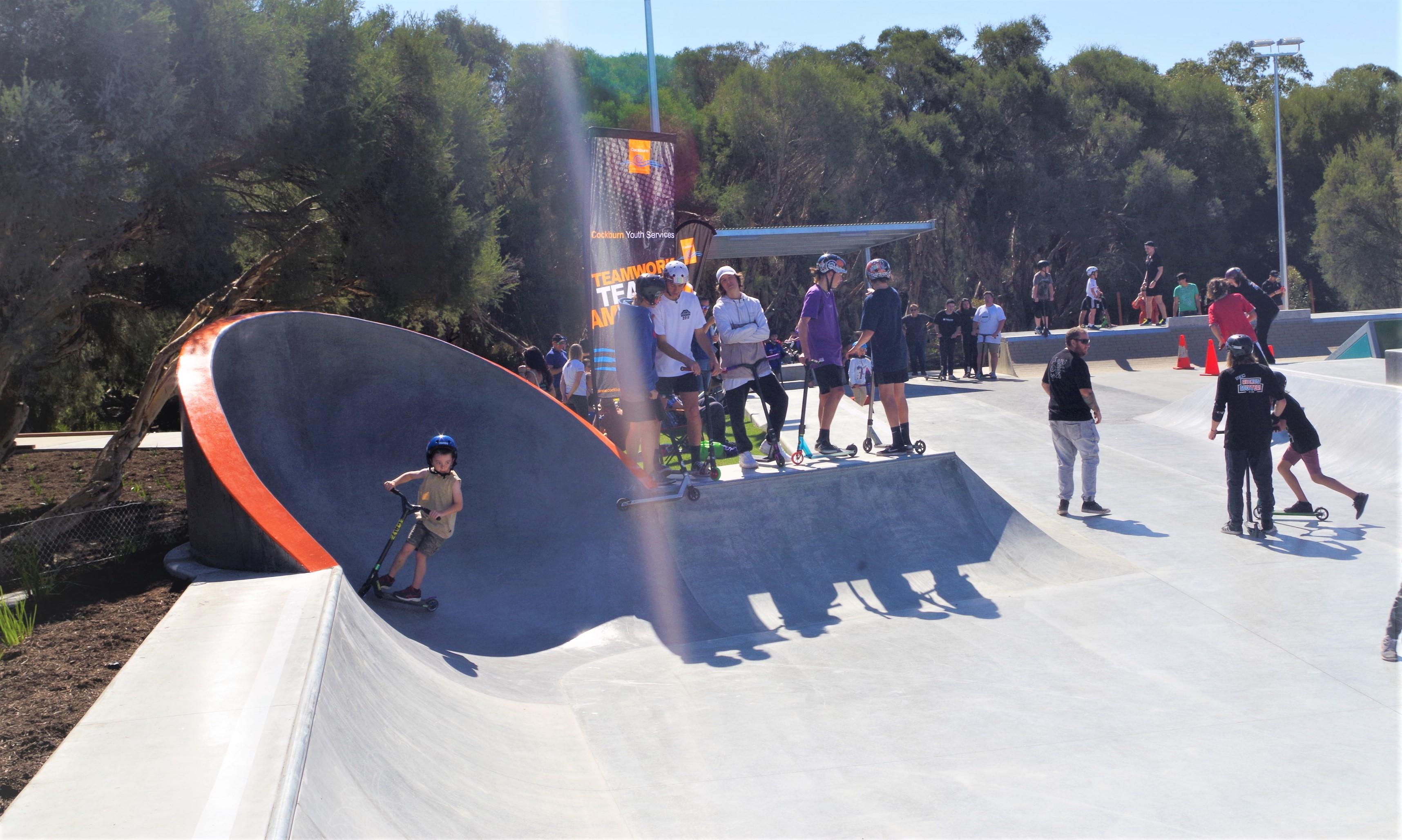 Bibra Lake Skate Park Dish