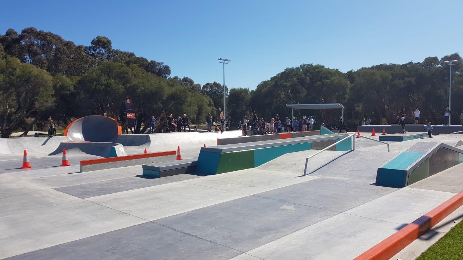 Plaza skate 1