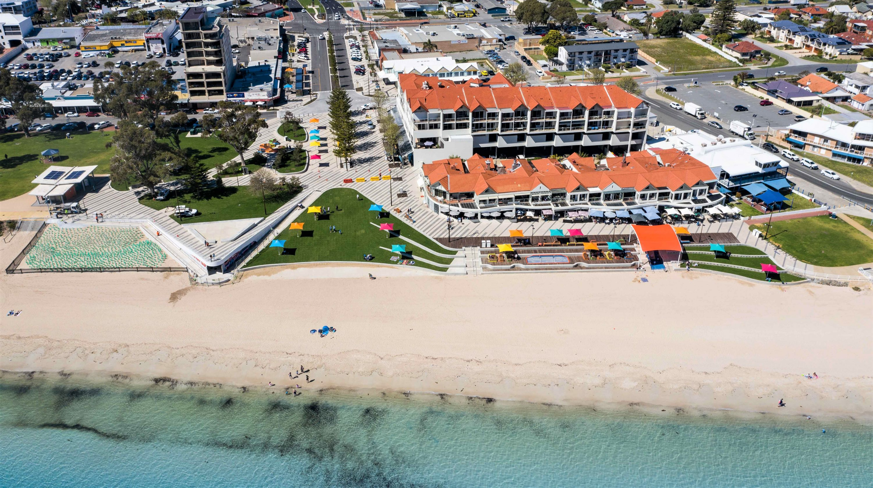 Rockingham foreshore Drone A
