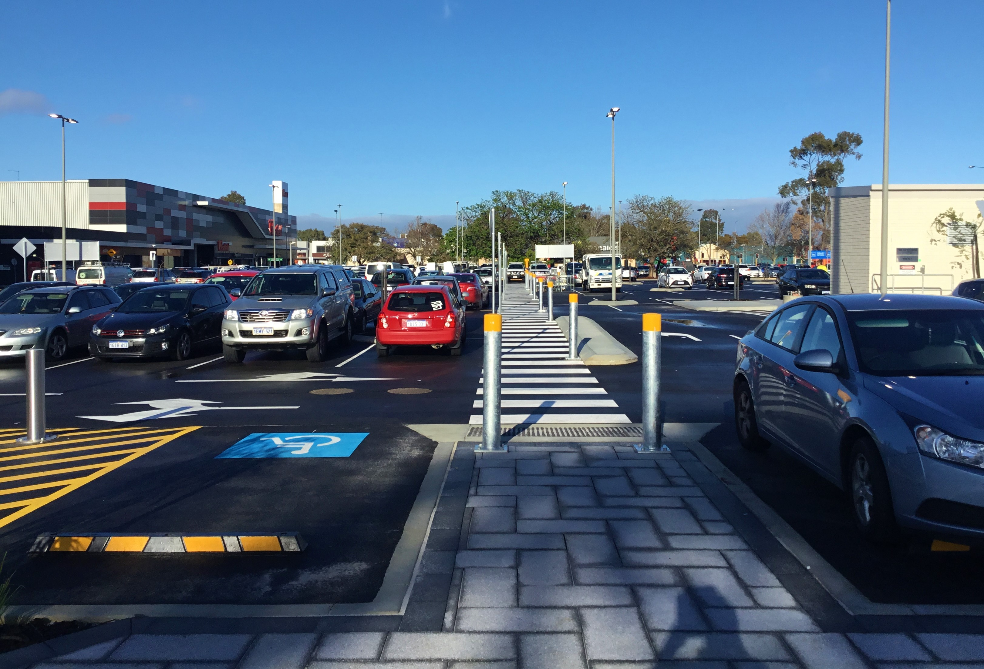Completed - Line Marking, Kerbing