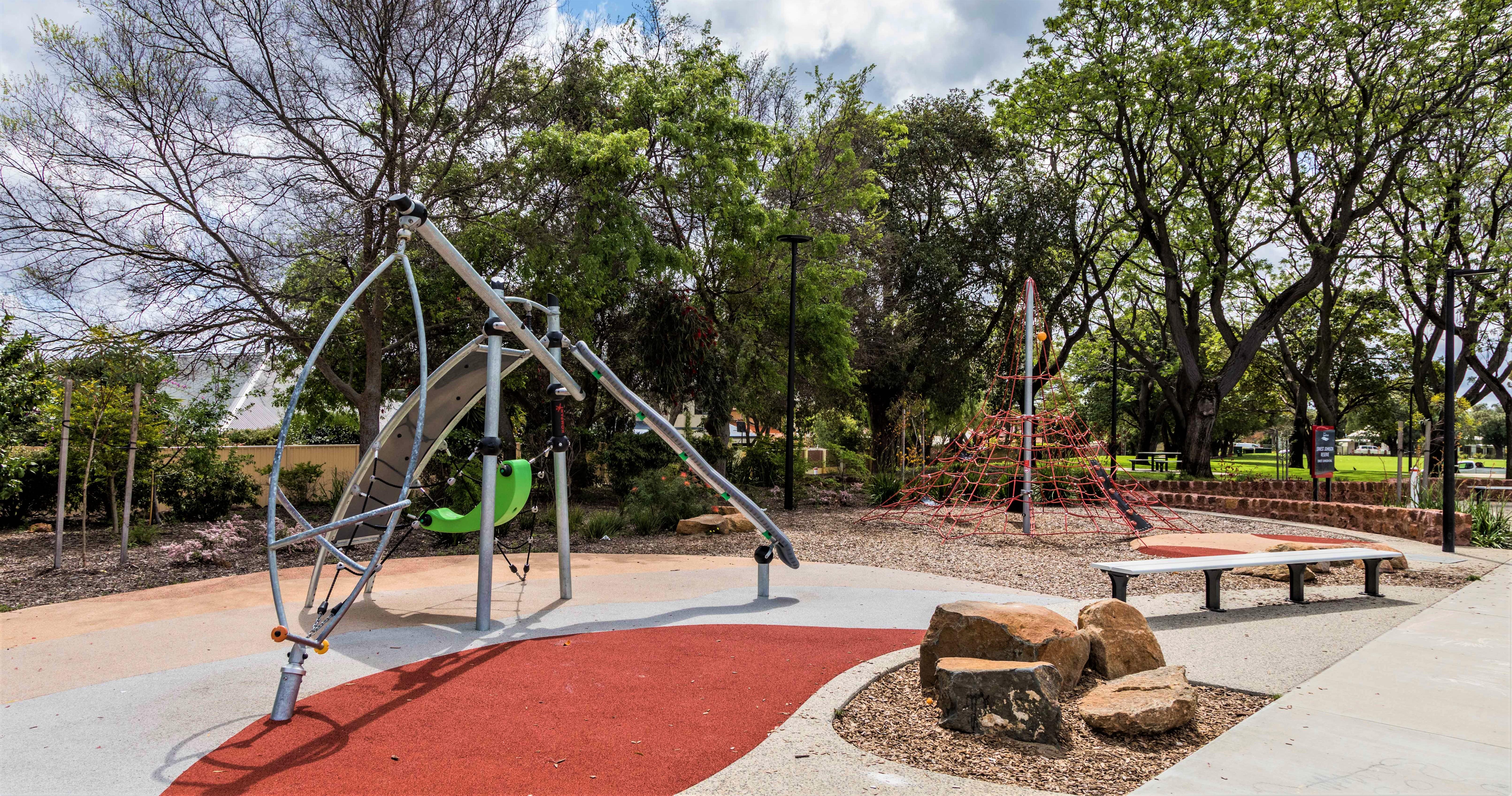 Ernest Johnson - Playground Equipment