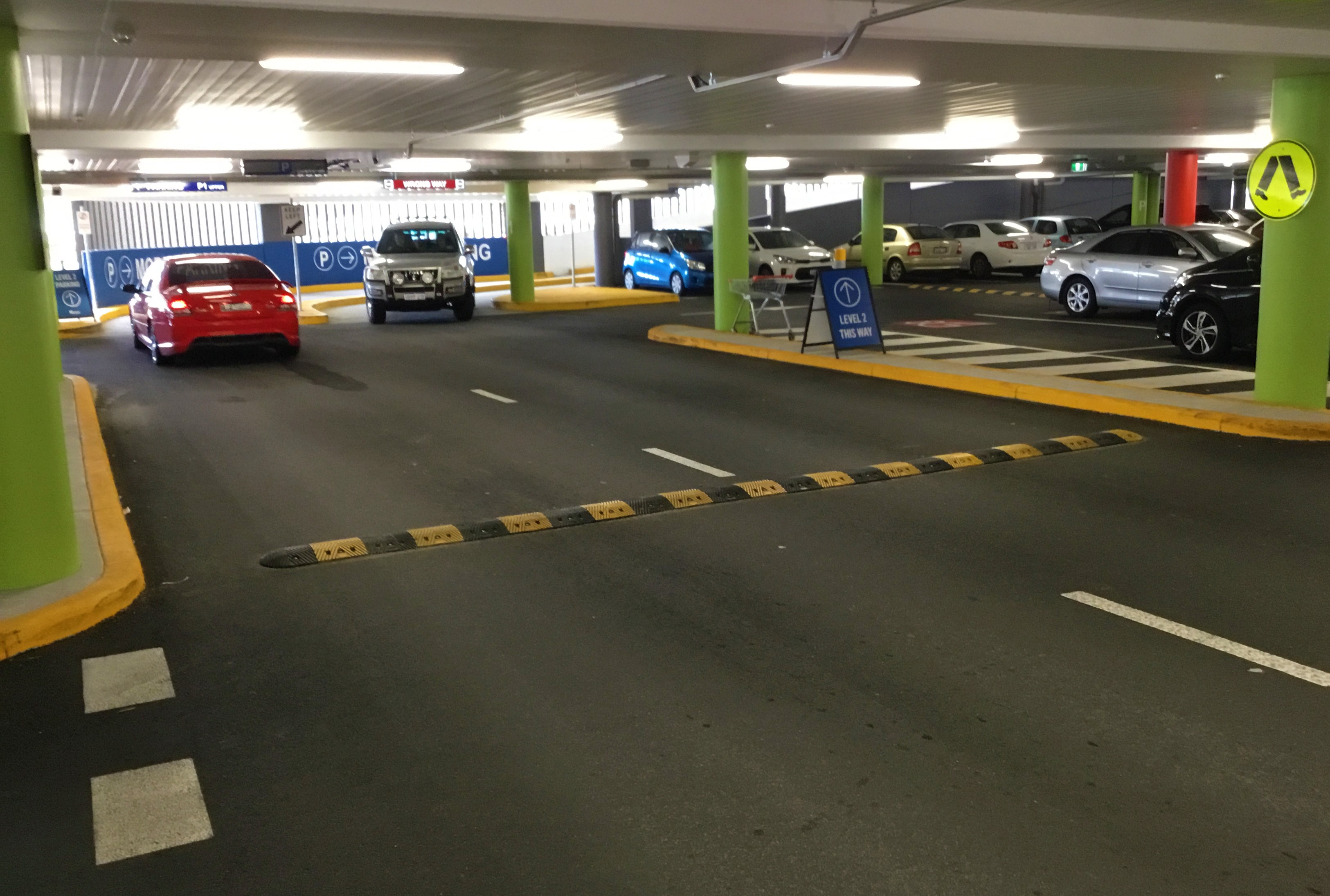 Garage Parking- Kerbing, Line Marking, Speed Bumps
