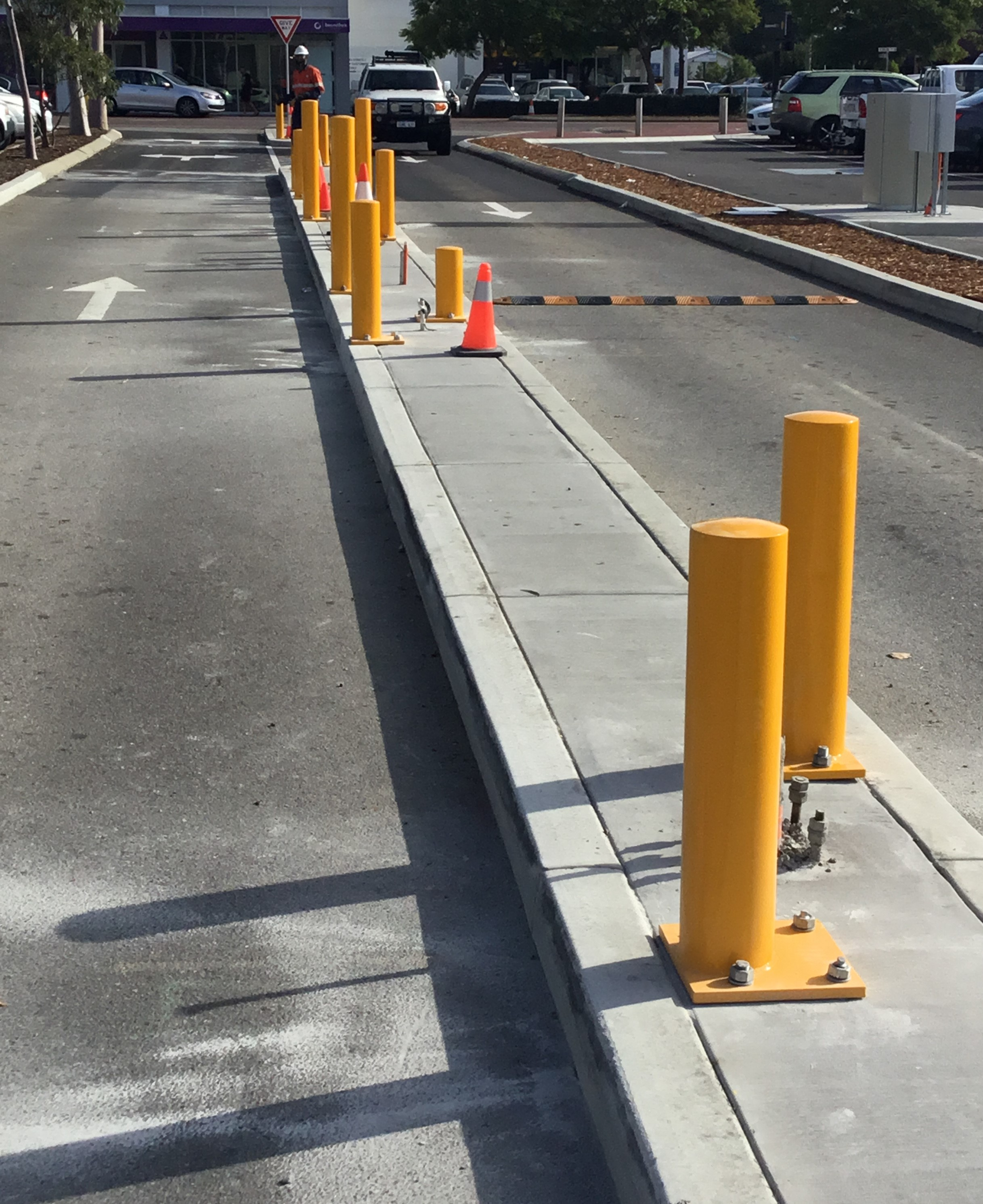 Kerbing and Bollards