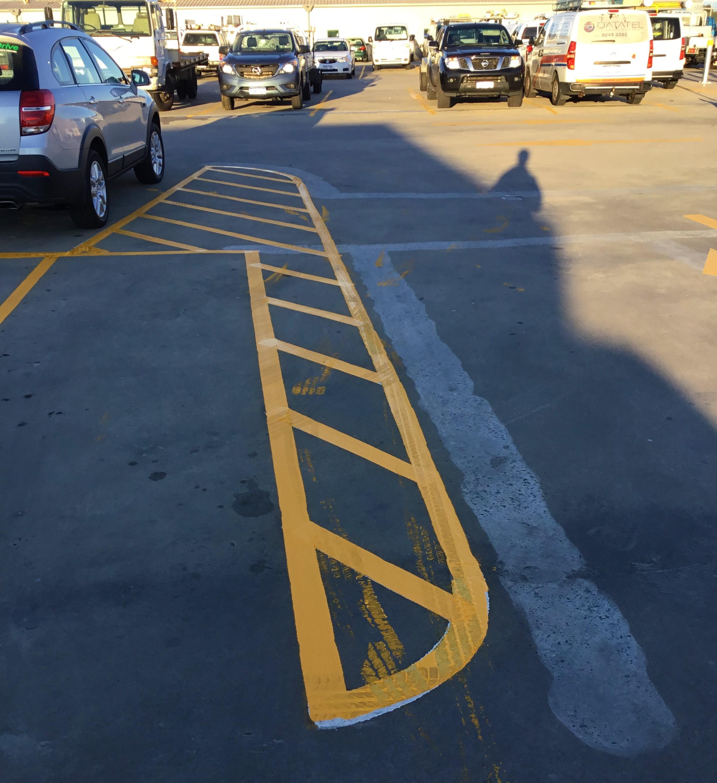 Parking Line Marking