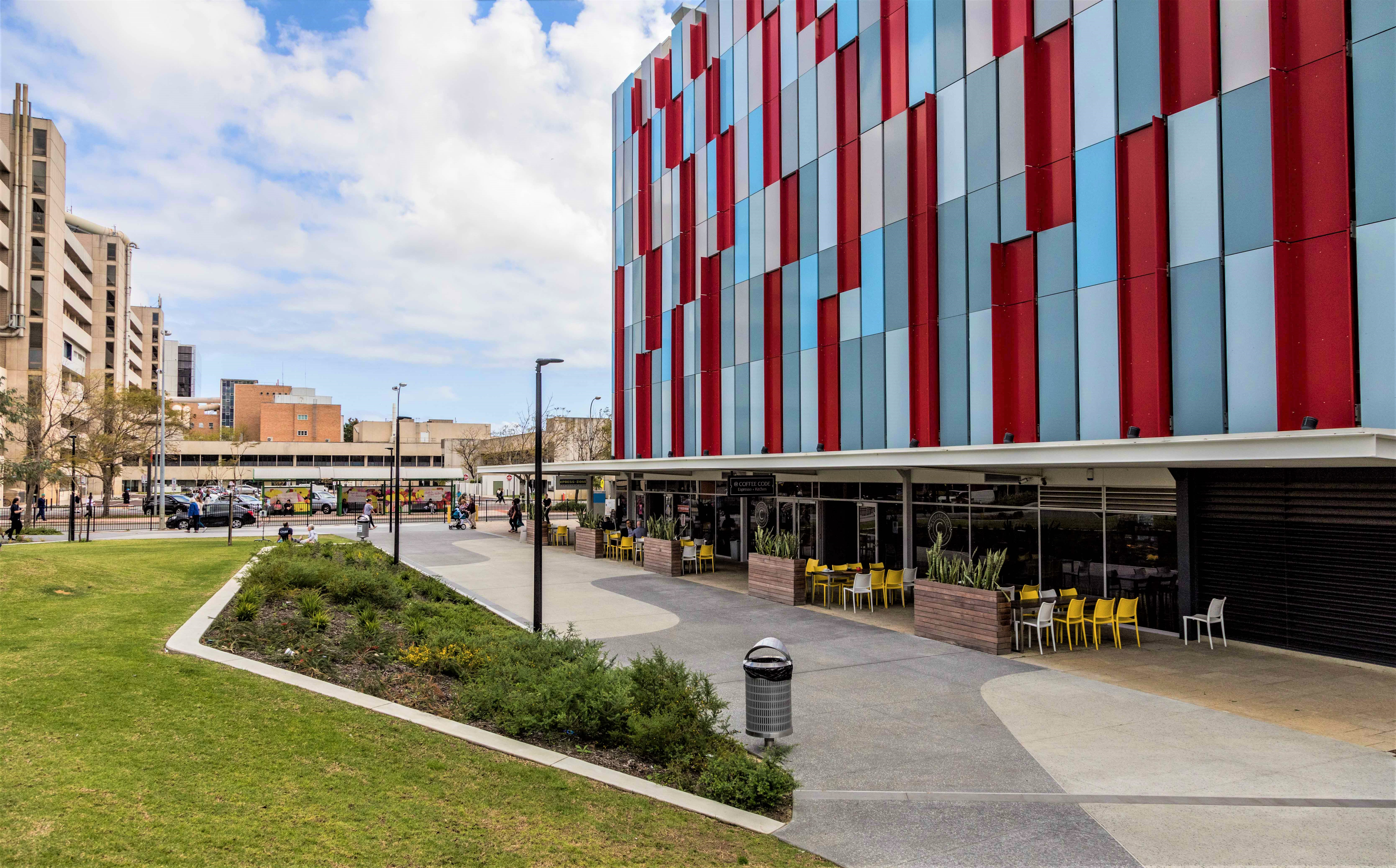 Perth's Children Hospital - Field by Cafe