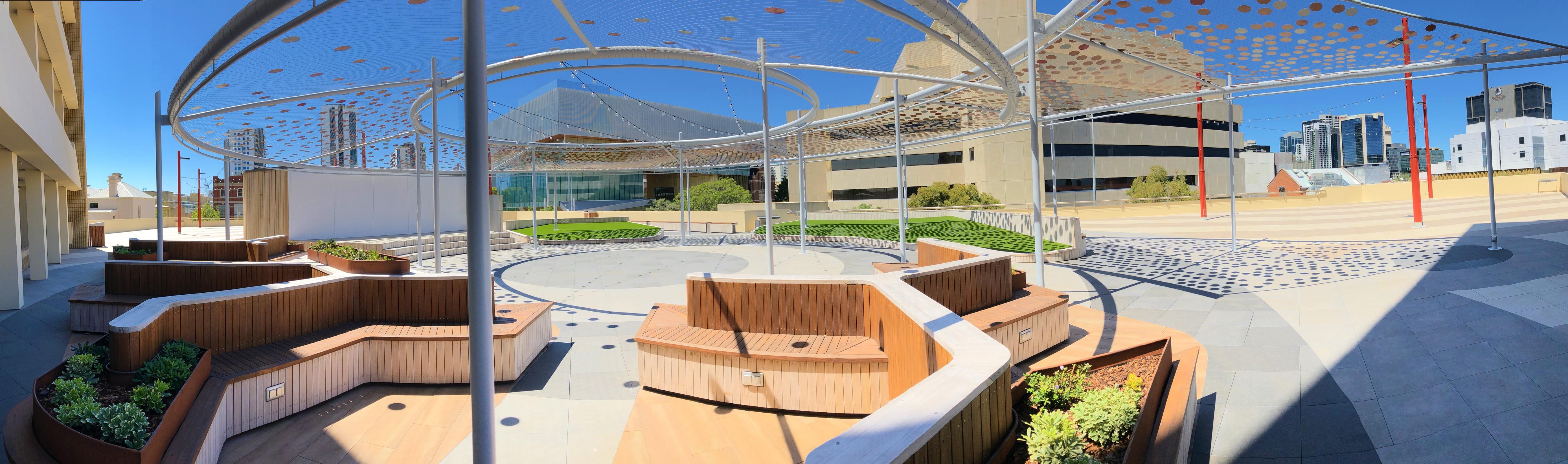 TAFE Rooftop - Panorama 4